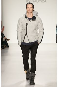 Black Sail By Nautica Fall-Winter 2014 Men's Collection Love this look.