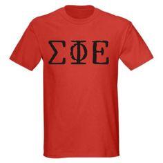 Sigma Phi Epsilon Type Greek Shirt