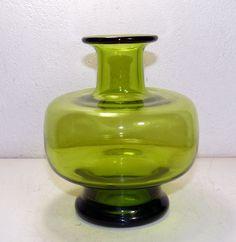 HOLMEGAARD - Per Lutken - may green Vase 18161