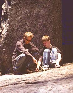 Gary Oldman & Daniel Radcliffe behind the scenes