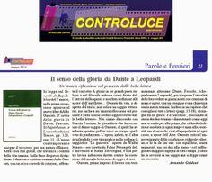 """La recensione di Armando Guidoni al nuovo libro di Aldo Onorati """"Il senso della gloria in Dante, Foscolo, Schopenhauer e Leopardi"""" (Edizioni Tracce, 2014): leggila sul nostro blog!"""