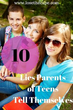 Parents of teens all tell themselves lies! Our guest today shares with us about being a #momofteen