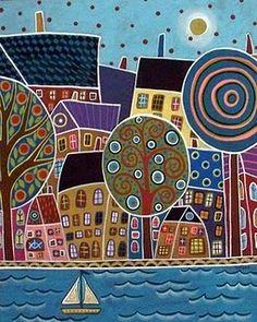 love folk art....