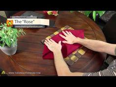 Δίπλωμα χαρτοπετσέτας ή πετσέτας για την διακόσμιση του τραπεζιού. - YouTube Christmas Nail Designs, Christmas Nails, Greek Recipes, Food Art, Fancy, Rose, Diy, Home Decor, Youtube