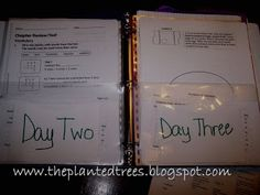 The Planted Trees: How I Plan Our Homeschool Week