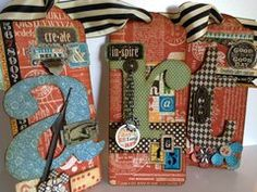 Project Ideas for Graphic 45 - Staples Collection - Large Tag Album