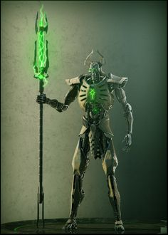 Necron lord #1 by Avitus12 monster beast creature animal   Create your own roleplaying game material w/ RPG Bard: www.rpgbard.com   Writing inspiration for Dungeons and Dragons DND D&D Pathfinder PFRPG Warhammer 40k Star Wars Shadowrun Call of Cthulhu Lord of the Rings LoTR + d20 fantasy science fiction scifi horror design   Not Trusty Sword art: click artwork for source