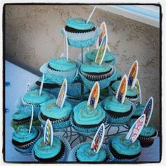 Surfer theme baby shower
