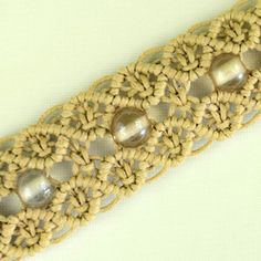 Macrame Double Wave Bracelet