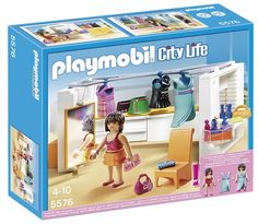 Amazon.com: PLAYMOBIL Modern Dressing Room Set: Toys & Games
