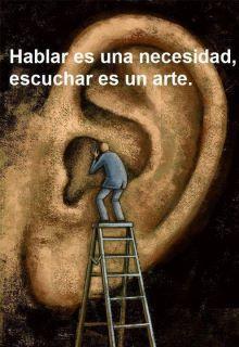 Hablar no es lo mismo que escuchar
