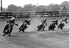 The first of four more consecutive years of Harley-Davidson AMA Grand National Championships in dirt track racing. Gary Scott wins in 1975. The following three years are won by racing legend Jay Springsteen. | Harley-Davidson 1975