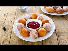 Gogosi cu lingura | Spoon Drop Doughnuts (CC Eng Sub) | JamilaCuisine - YouTube Breakfast Snacks, Breakfast Recipes, Romanian Food, Romanian Recipes, Good Food, Yummy Food, Weight Watchers Desserts, Weird Food, Crazy Food