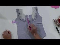 Hermenegildo Zampar - Bienvenidas TV en HD - Explica los escotes para vestidos y musculosas - YouTube