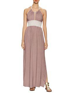 Marabelle Halter Neck Maxi Dress