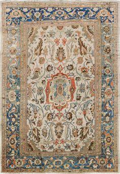 "Persian Sultanabad Ziegler rug, 15' 4"" x 21' 2"", J.H. Minassian gallery"