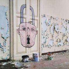 Nemo's - Italian Street Artist - Colorno (IT) - 08/2015 - |\*/| #nemo's #streetart #italy
