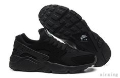 save off 97426 e401a Mens Nike Air Huarache Black Anthracite Running Shoes On Sale UK