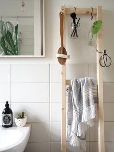 IKEA hack - IVAR Seitenteil wird zur Leiter. www.craftifair.com