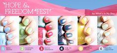 ORLY Hope Fest Collection Manicure.   ORLY. TUTTE le donne che sei per TUTTO il tempo che vuoi.  www.smaltiorly.it