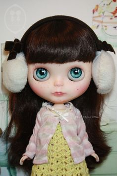 Custom Commission Blythe Doll by little dolls room