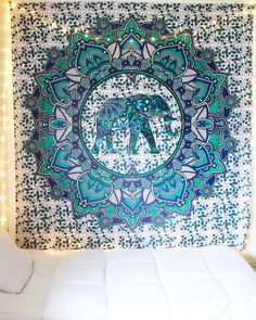 Elephant Mandala Tapestry from The Bohemian Shop