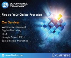 L2N is known among its customers for offering professional digital marketing services from small to multinational business companies at reasonable rates. We help online businesses build online presence by providing them professional services.  For details give us a call @ 03025265262 or visit our site www.l2ndm.com  #onlinebusiness #webdevelopment #sales #marketingagency #google #socialmediatips #ecommerce #creative #sem #digitalmarketingagency #ppc #websitedesign #content #businessowner…