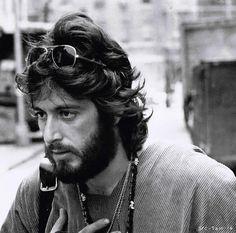 Al Pacino in 'Serpico', 1973.  Hot then, hot now.