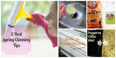 5 Best Spring Cleaning tips from Pinterest-tried and true!
