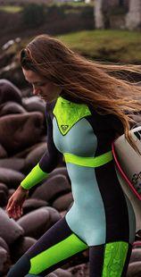 Syncro 3/2MM Back Zip Wetsuit ARJW103003 - Roxy