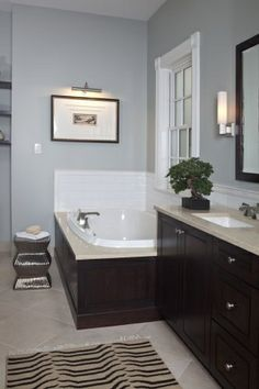 lincoln park residence master bathroom