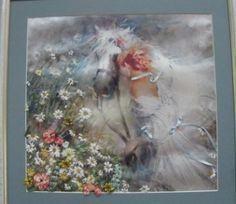 «Дівчина з конем». Автор Ніна Миколаївна Григор'єва