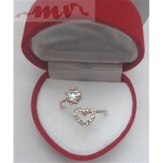 Inel reglabil cu inimioara si pietricica Heart Ring, Rings, Blog, Jewelry, Fashion, Moda, Jewlery, Jewerly, Fashion Styles