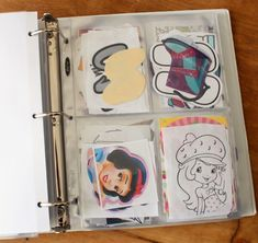 Storing Cookie Templates ~ Templates and Stencils...neat and organized