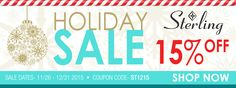 Sterling Industries 15% Off Holiday 2015