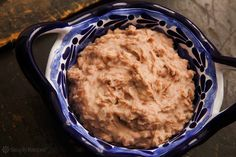 How to make traditional Mexican refried beans, using either regular or pressure cooker methods.