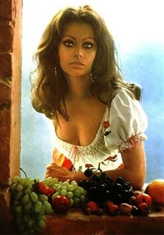 Sophia Loren's cookbook, In The Kitchen With Love was published in 1972.