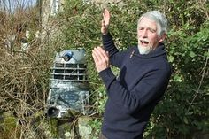 Dr Who enthusiast erects full-size Dalek in his Muddiford garden | North Devon Journal