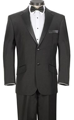 House of St. Benets Modern Fit Tuxedo - Available In Black or White