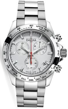 Davosa Watch Speedline Chronograph #add-content #bezel-fixed #bracelet-strap-steel #brand-davosa #case-depth-12mm #case-material-steel #case-width-42mm #chronograph-yes #date-yes #delivery-timescale-call-us #dial-colour-white #gender-mens #luxury #movement-quartz-battery #new-product-yes #official-stockist-for-davosa-watches #packaging-davosa-watch-packaging #style-dress #subcat-speedline #supplier-model-no-16347015 #warranty-davosa-official-2-year-guarantee #water-resistant-100m