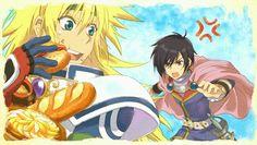 Stahn and Leon Tales Of Destiny, Tales Series, Brave, Manga, Drawings, Illustration, Artwork, Video Games, Films