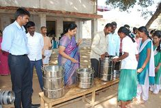 Imparting Food & education to the underprivileged people in rural areas