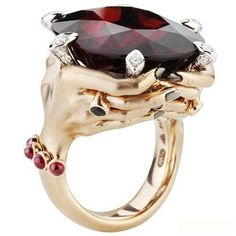 Stephen Webster Seven Deadly Sins Wrath ring. Read more here: http://www.thejewelleryeditor.com/2010/12/stephen-webster-launches-the-seven-deadly-sins-are-we-surprised/