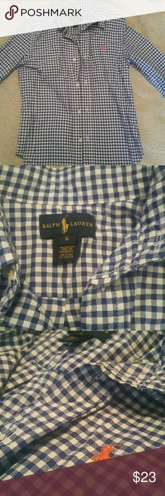 Ralph Lauren Polo Shirt Mint condition, worn twice, long sleeve button up -  ALL ITEMS IN OUR STORE ARE AUTHENTIC TO THEIR NAME BRAND Ralph Lauren Shirts & Tops Button Down Shirts