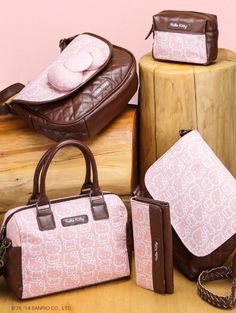 Elegant, earthy and filled with #HelloKitty fun! Sweet bags for Fall.