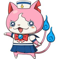 Sailornyan (Seeraanyan) - Yo-Kai Watch  #yokaiWatch #youkaiWatch http://yokaiwatch.wiki-list.review/sailornyan-seeraanyan/