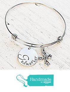 Godmother Bangle Bracelet Hand Stamped from LastingImpressionsCT http://www.amazon.com/dp/B01A028SD8/ref=hnd_sw_r_pi_dp_kjCLwb1VXMVBJ #handmadeatamazon
