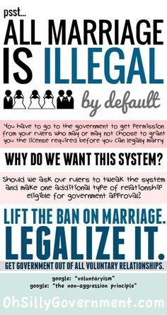 We shouldn't need govt approval to get married, period! Do away with requiring marriage licenses!
