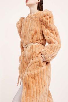 Nina Ricci Pre-Fall 2017 Fashion Show Adventurous design for this outerwear look.