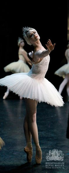 Birmingham Royal Ballet - Swan Lake; Jenna Roberts; photo: Andrew Ross...